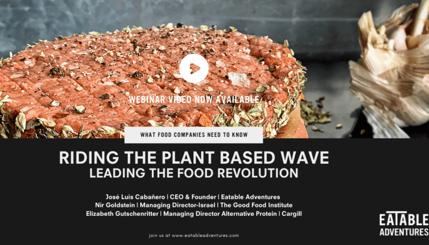 Webinar: riding the plant-based wave