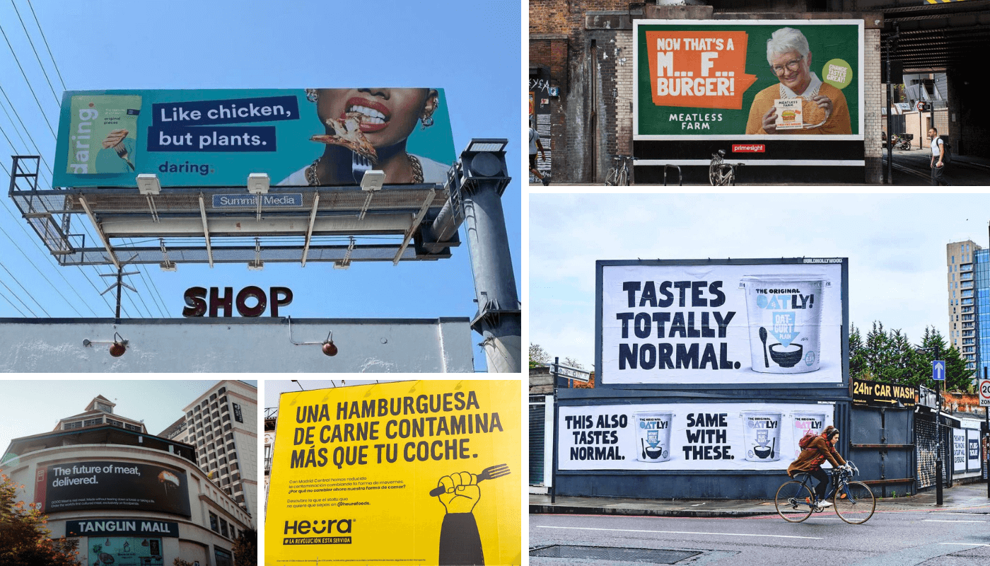 5 Must-See Outdoor Campaigns by Plant-Based Brands