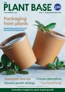 cover page of magazine on bio packaging